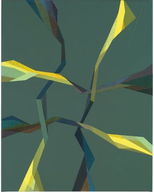 Feibe (2017) by Tomma Abts.