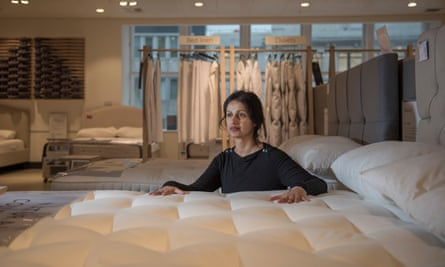 """Rehana Kapadia: """"If your mattress is too firm, you can end up with hyperlordosis."""""""