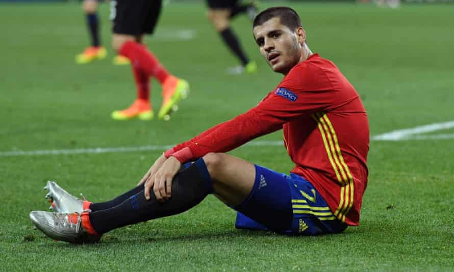 Álvaro Morata has had a disappointing first season with Chelsea