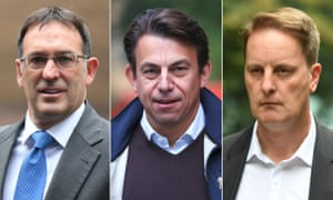 Former Tesco executives Chris Bush, Carl Rogberg and John Scouler all deny wrongdoing and have pleaded not guilty.