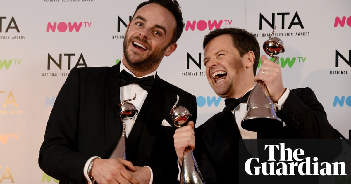 Ant and Dec triple winners at National Television awards
