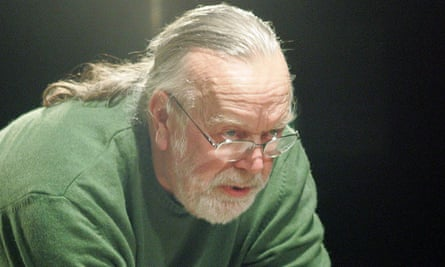 William Gaskill in 2005. He was 'revered for the purity and deep seriousness' of his productions.