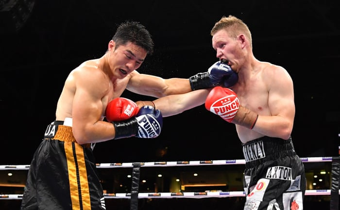Jeff Horn Knocks Out Anthony Mundine In The First Round As It