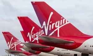 Virgin Atlantic has been forced to cancel hundreds of flights.