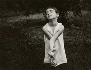 Nancy, Danville, Virginia, 1969, by Emmet Gowin