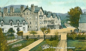 "Fife Arms PC18 Valentine's. Posted 17 July 1920. Hotel only releasing this image of the hotel to press. ""As the construction is still ongoing, we don't have any specific images of the hotel finished at this point. """