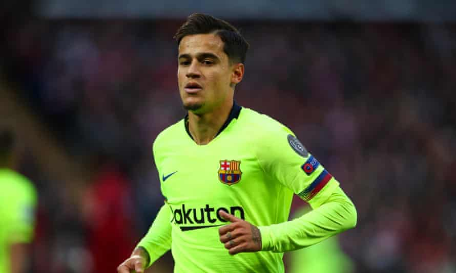 Philippe Coutinho joined Barcelona from Liverpool in January 2018.