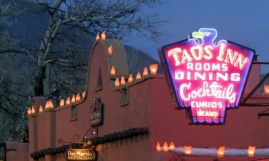 The Historic Taos Inn.
