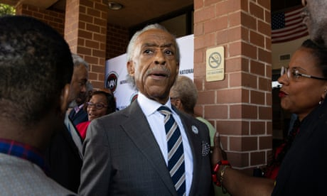 Trump has 'particular venom for people of color', Al Sharpton says – as it happened