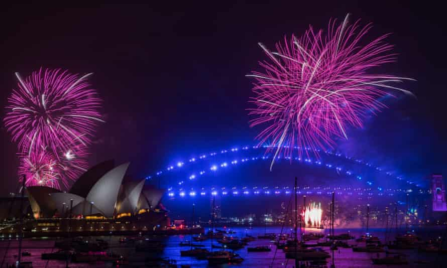 Last year's Sydney New Year's Eve fireworks