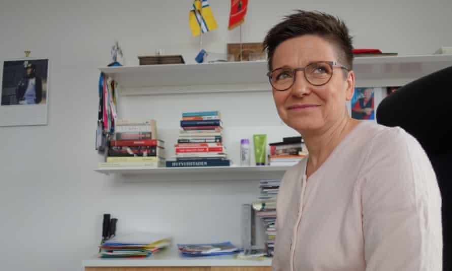 Mayor Ann-Sofie Hermansson.