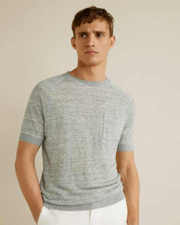 A lyocell t-shirt from Mango.