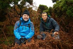 David Walliams and Bear Grylls