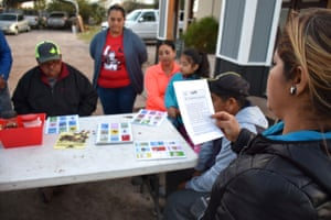 LUPE's Census outreach effort so far has focused on using Censo Lote in neighborhood house meetings