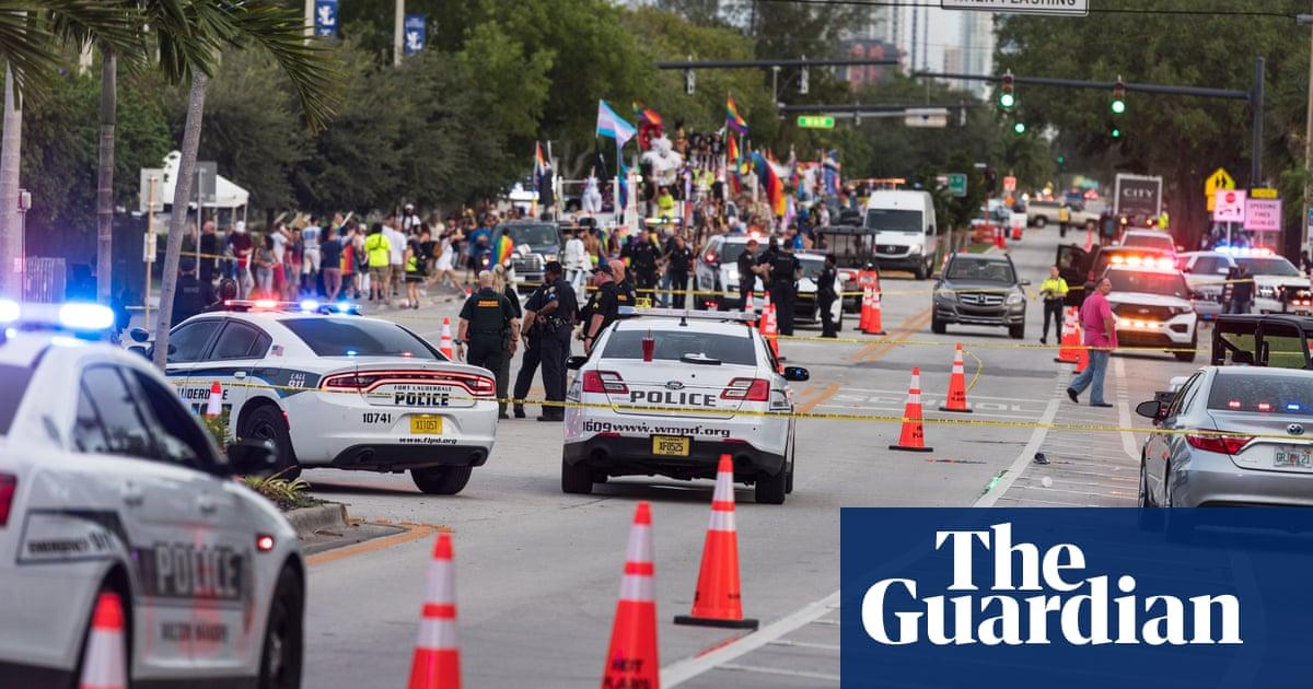 Pickup truck hits Florida Pride parade spectators, killing one
