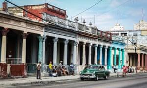 Calzada de Cerro, Havana.