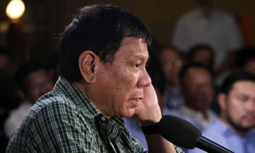 Rodrigo Duterte in Davao
