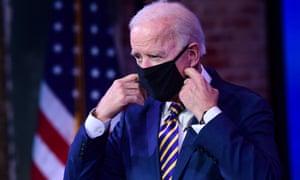 Joe Biden has made tackling coronavirus his top priority.