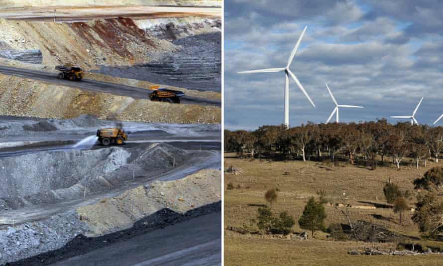 Coal vs wind