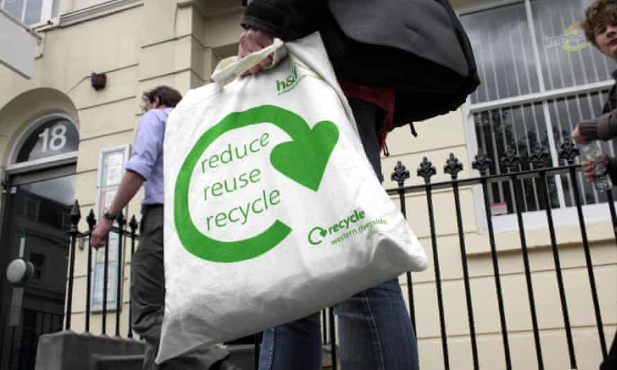 Cotton shopping bags are great … as long as you reuse them.