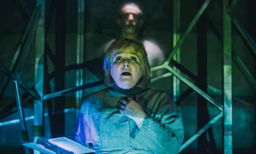 Dystopian … Caroline Gruber as Vashti in The Machine Stops at York's Theatre Royal.