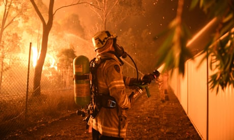 Sydney's bushfire season starts in winter: 'We may have to rethink how we live'
