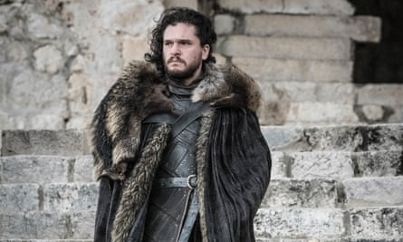 I thought he might spend the entire episode shooting side-eye to the Unsullied ... Jon Snow (Kit Harington)