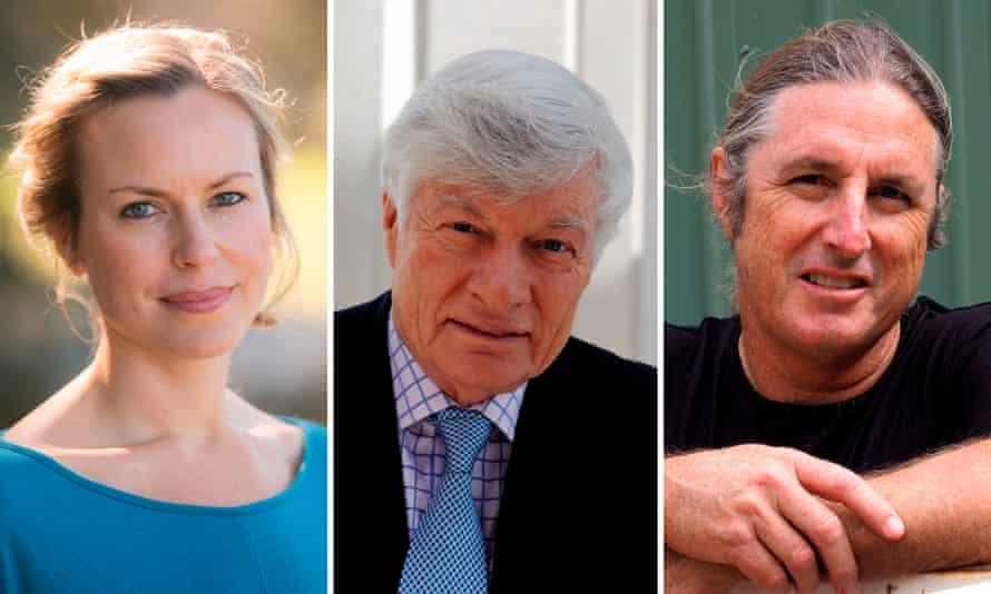 Ceridwen Dovey, Geoffrey Robertson and Tim Winton