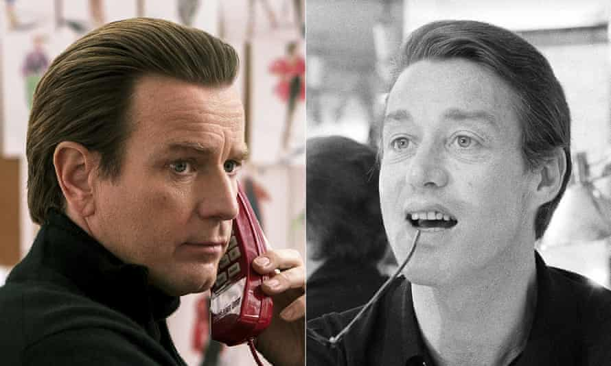 Ewan McGregor portrays the fashion designer Roy Halston in the new Netflix series Halston.