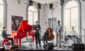 Misha Mullov-Abbado and band