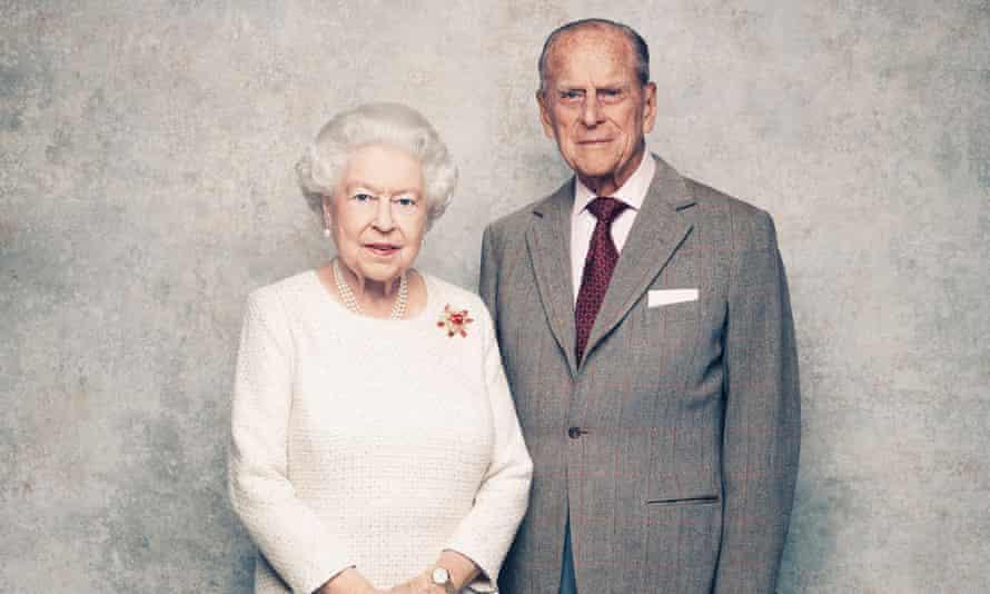 Queen, Prince Philip.