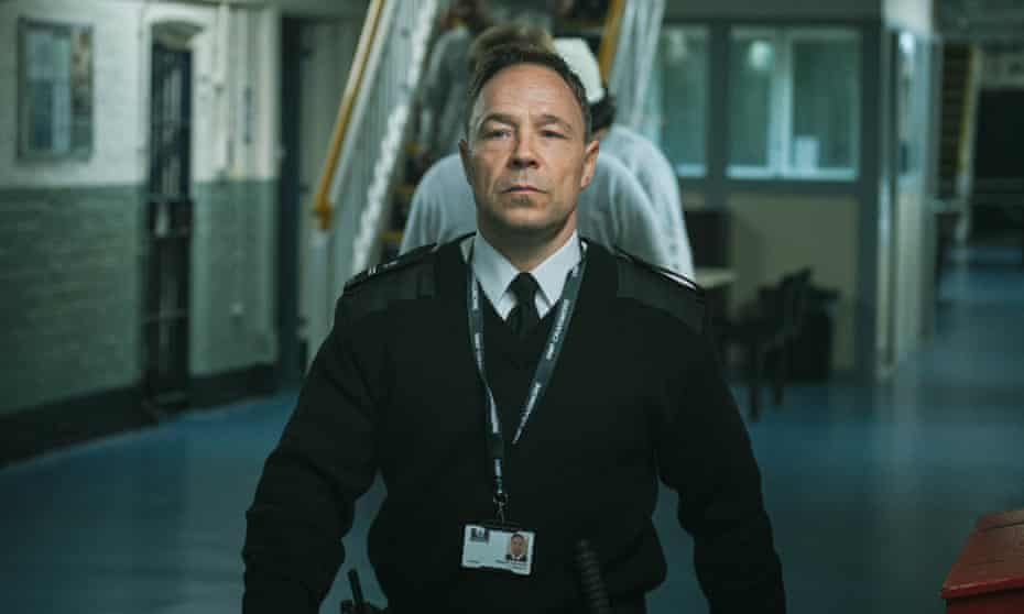 Also a man trapped ... Stephen Graham as Eric.