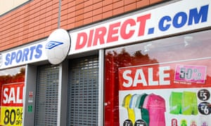 Sports Direct store in London
