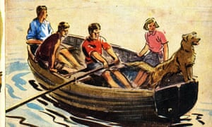 Enid Blyton's first Famous Five book, Five on a Treasure Island. Is Kirrin Cottage the sixth member of the gang?