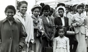 Jamaican immigrants 1954