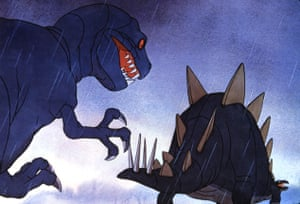Walt Disney's 1940 classical music celebration Fantasia turned The Rite of Spring into a dinosaur battle.