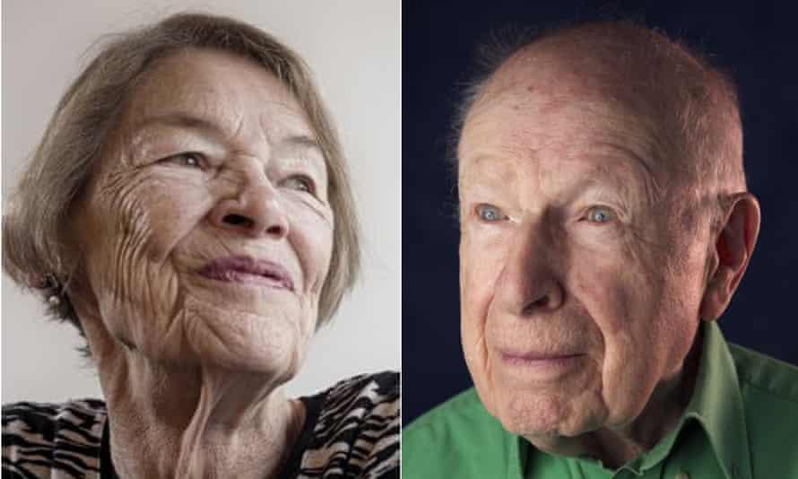 Glenda Jackson and Peter Brooks, recorded in conversation for Radio 4. Photographs: Sarah Lee/ The Guardian; Richard Saker/The Observer