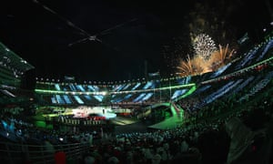 The climax of the Paralympic closing ceremony