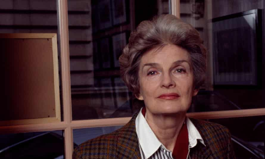 Julia O'Faolain in Paris in 1995. 'I have given no thought to the inner Julia and am more interested in observing other people's behaviour than my own,' she wrote.