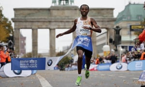 Kenenisa Bekele recovered after dropping off the lead late in the race