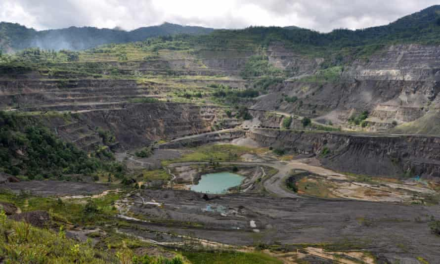 The Panguna mine was the catalyst for a decade-long civil war on Bougainville, a now autonomous region of Papua New Guinea.