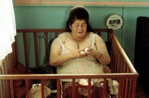 Edith Massey in Jon Waters' 1972 film Pink Flamingos