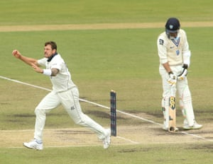 James Pattinson celebrates one of his four second innings wickets as Victoria controlled the Sheffield Shield final.