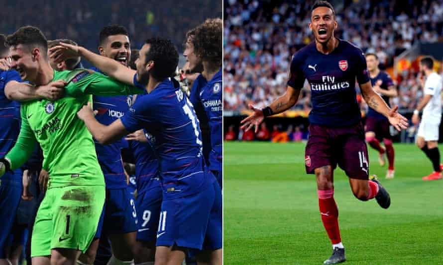 Chelsea and Arsenal will face each other in the Europa League final, meaning both major European tournaments will be won by an English side.