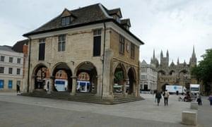 Peterborough's city centre.