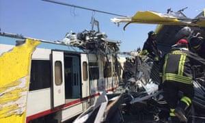 Italy Train Collision