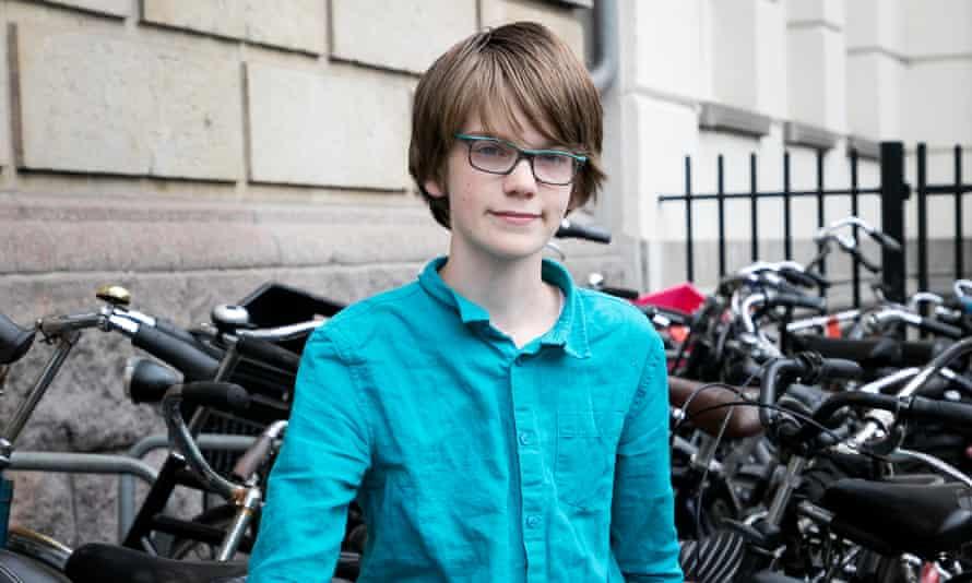 Tjalling Appelhof, 14, from Amsterdam