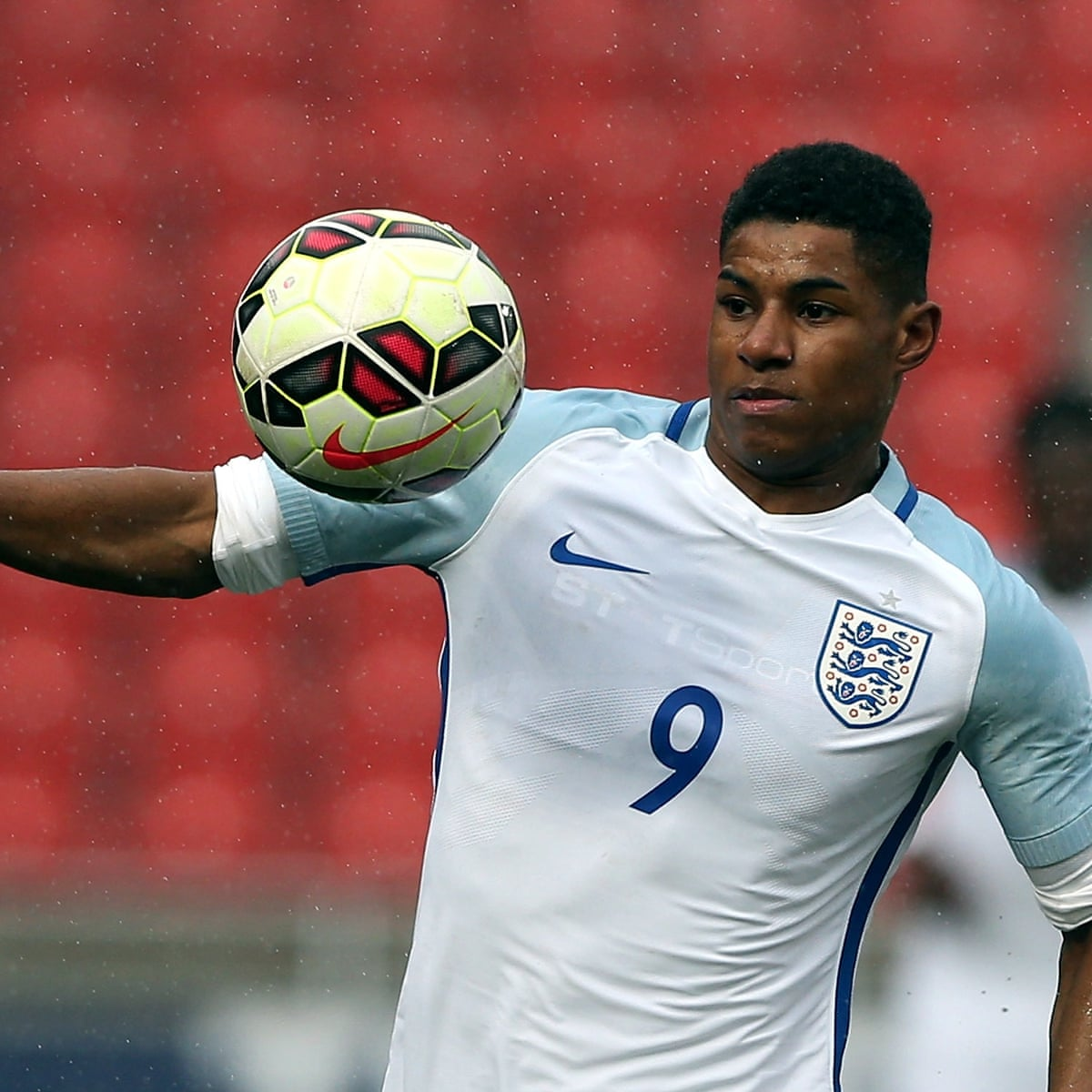 Marcus Rashford Draws Blank On England Under 20s Debut England The Guardian