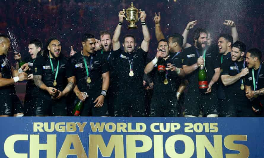 New Zealand lift 2015 Rugby World Cup