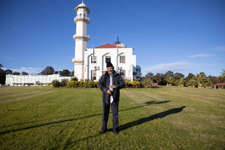 Imam Imtiaz Naveed, from the Baitul Huda Mosque in Marsden Park, has been helping to communicate the stay-at-home message to his local community.